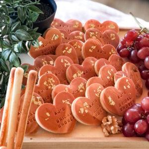 terracotta grazing table cookies